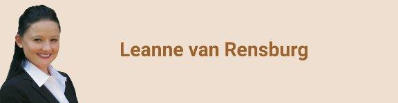 Leanne van Rensburg